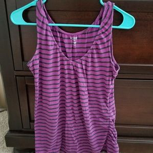 Nursing tank top